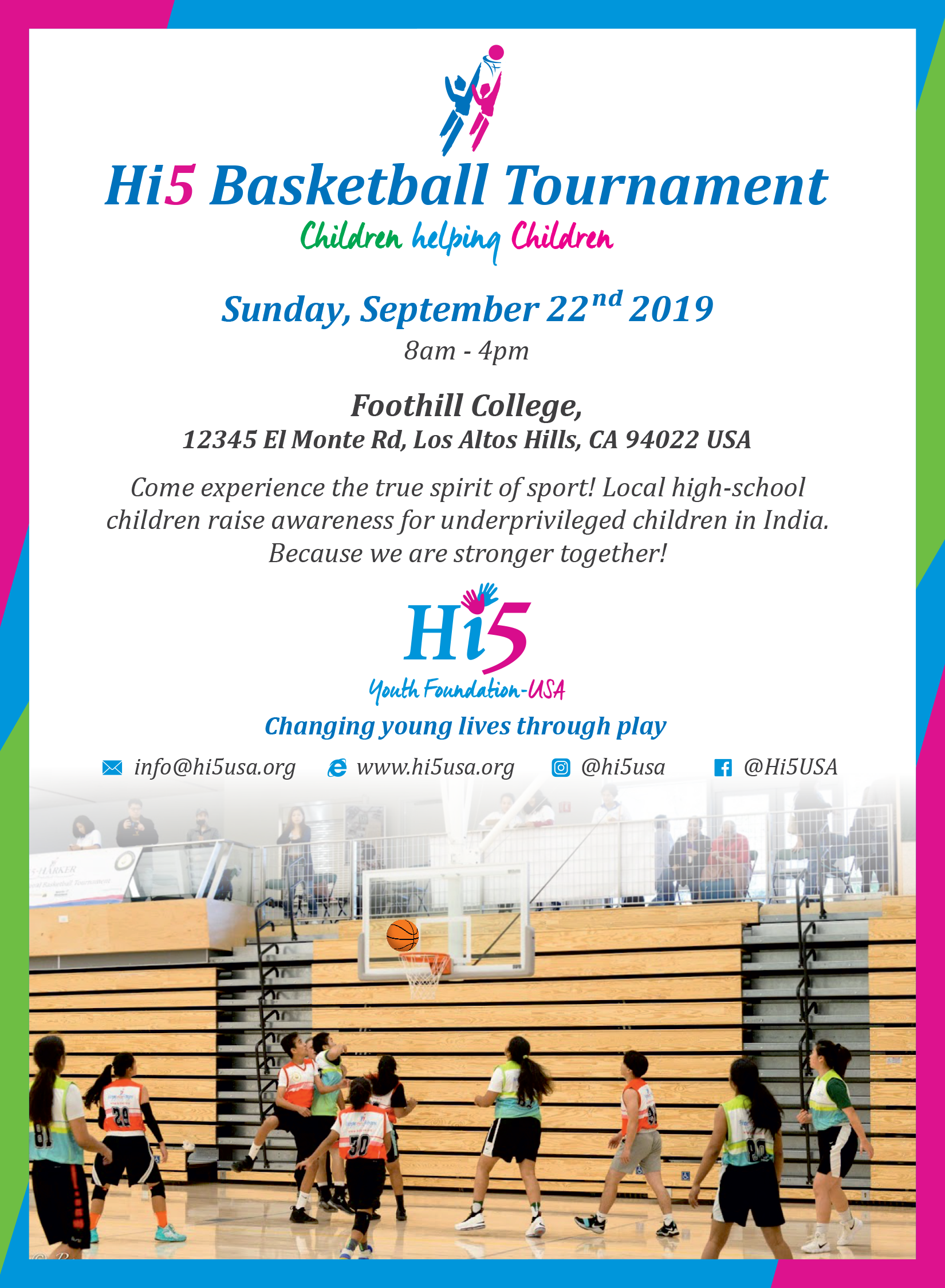 Events   Hi 5 Youth Foundation
